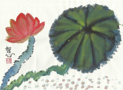 蓮花畫-1