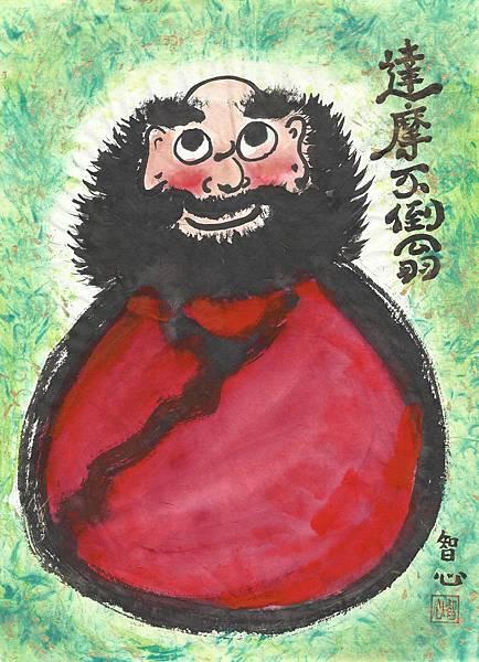 達摩祖師畫-18