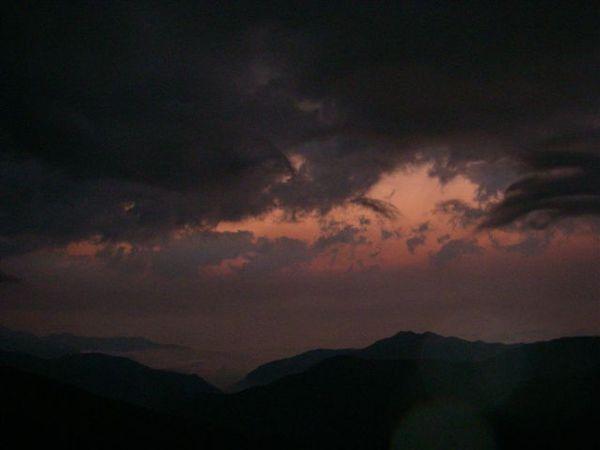 早晨起床的天空