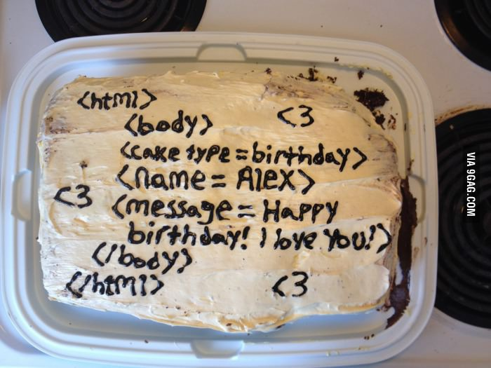 Made my programmer boyfriend a birthday cake..jpg