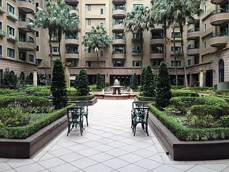 中悅花園廣場社區中庭