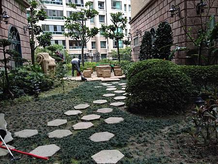 中悅花園廣場社區步道
