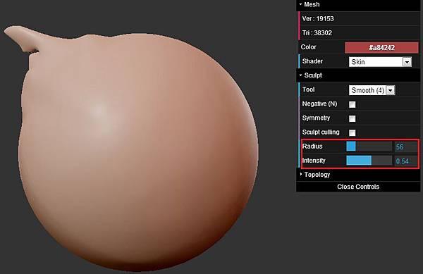 [數位應用]免費線上類Zbrush 5軟體程式:ScluptGL,輕鬆做出細緻造型(OBJ,3dsmax,keygen,破解下載,Stéphane GINIER,WebGL,JavaScript,demo,globe,tutorial教學,example)4