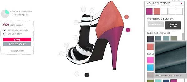 [產品設計] 客制化高跟鞋設計.禮物: 購買自己設計的鞋子(Design Custom Made Shoes) (電子商務,互動介面設計,服務設計,走路,品牌,好穿法,高度,ballet flats(芭蕾舞鞋),mid heels(中根鞋),high heels(高根鞋), extra high heels(超高跟鞋), flat sandals(平底涼鞋), heeled sandals(高跟涼鞋), gladiators Shoes(羅馬鞋), party heels(宴會高跟鞋), flat oxfords(平底休閒鞋), ankle boots(短靴), wedge heels(楔形鞋))4