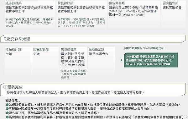 2014臺灣國際學生創意設計大賽2