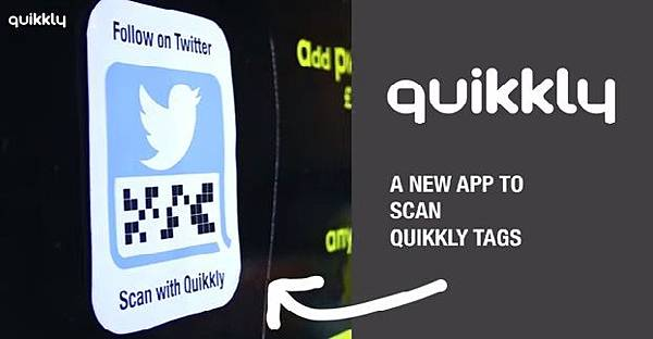 Quikkly教學,Action Tags掃瞄應用,FB自動按讚,比QR Code更適合電子商務和行銷的動作二維條碼標籤 (新創公司,倫敦,twitter,Google maps,java,writing,script)