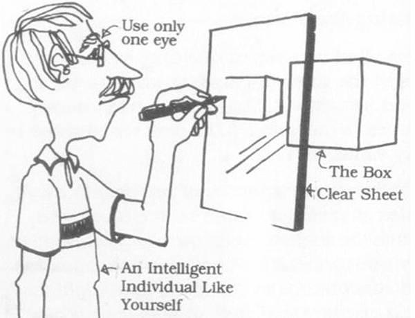 透視學(perspective),透視法教學畫法講義2一點透視,兩點透視,三點透視,基本名詞教學,說明(透視觀察,種類,畫法)06