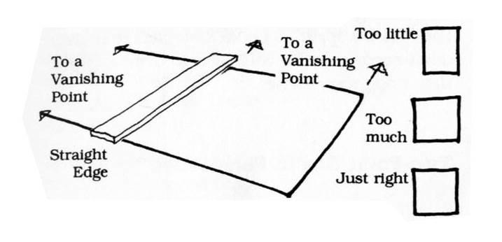 透視學 (perspective) 透視法教學畫法講義5: 判斷透視正確性與透視的造型比例分割,對角線中心點 (練習,Poe,攝影,英文,梁又文老師設計教學系列)2