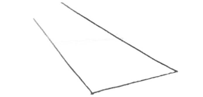 透視學 (perspective) 透視法教學畫法講義5: 判斷透視正確性與透視的造型比例分割,對角線中心點 (練習,Poe,攝影,英文,梁又文老師設計教學系列)3