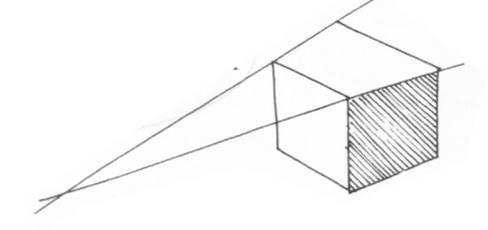 透視學 (perspective) 透視法教學畫法講義5: 判斷透視正確性與透視的造型比例分割,對角線中心點 (練習,Poe,攝影,英文,梁又文老師設計教學系列)7