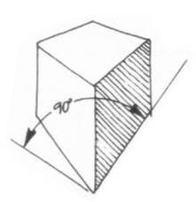 透視學 (perspective) 透視法教學畫法講義5: 判斷透視正確性與透視的造型比例分割,對角線中心點 (練習,Poe,攝影,英文,梁又文老師設計教學系列)8