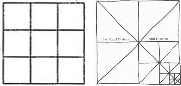 透視學 (perspective) 透視法教學畫法講義5: 判斷透視正確性與透視的造型比例分割,對角線中心點 (練習,Poe,攝影,英文,梁又文老師設計教學系列)13