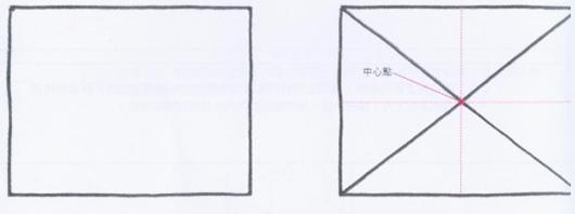 透視學 (perspective) 透視法教學畫法講義5: 判斷透視正確性與透視的造型比例分割,對角線中心點 (練習,Poe,攝影,英文,梁又文老師設計教學系列)15
