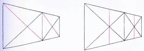 透視學 (perspective) 透視法教學畫法講義5: 判斷透視正確性與透視的造型比例分割,對角線中心點 (練習,Poe,攝影,英文,梁又文老師設計教學系列)20