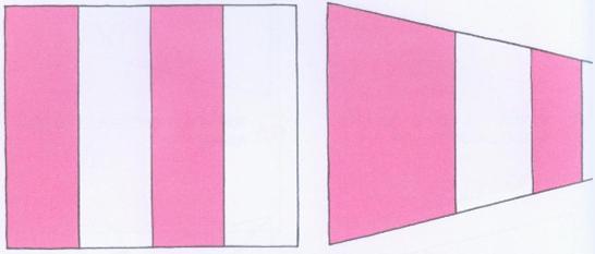 透視學 (perspective) 透視法教學畫法講義5: 判斷透視正確性與透視的造型比例分割,對角線中心點 (練習,Poe,攝影,英文,梁又文老師設計教學系列)21
