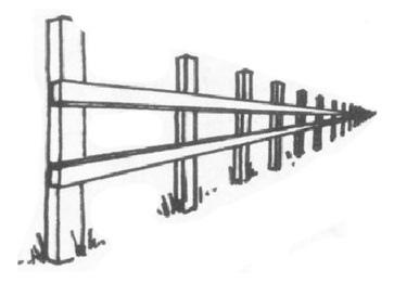 透視學 (perspective) 透視法教學畫法講義6-1,透視立體造型比例增加,對角線中心點 (設計表現技法,手繪練習,Poe,梁又文老師)4
