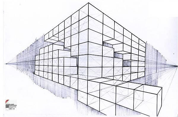 透視繪畫作品,perspective 6-1