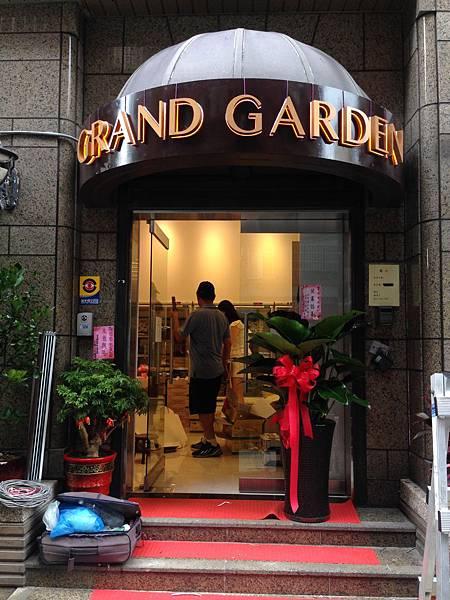 台北市 安和路 GRAND GARDEN  壓克力 LED 發光字(背光) (11)