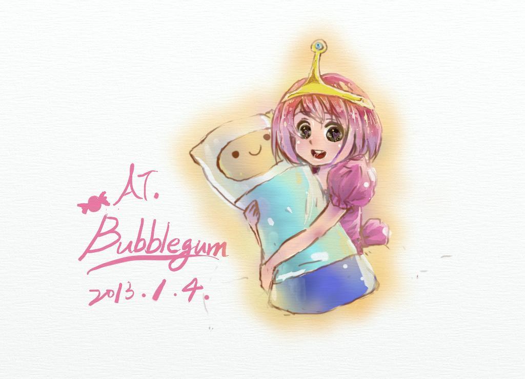 泡泡糖公主