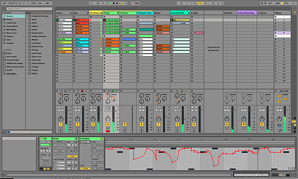 Session-Automation-Recording-Curves