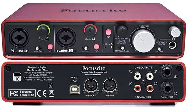 Focusrite-Scarlett-2i2-Vs-2i4