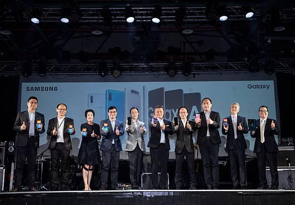 【新聞照片1】台灣三星電子今日宣布全新A系列手機、平板、穿戴式裝置正式在台發表上市。
