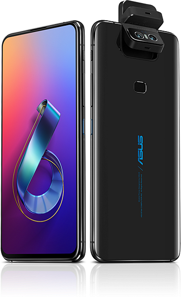 ASUS ZenFone 6為首款全螢幕無瀏海設計ZenFone手機,結合創新翻轉式相機,行動攝影新時代即刻降臨
