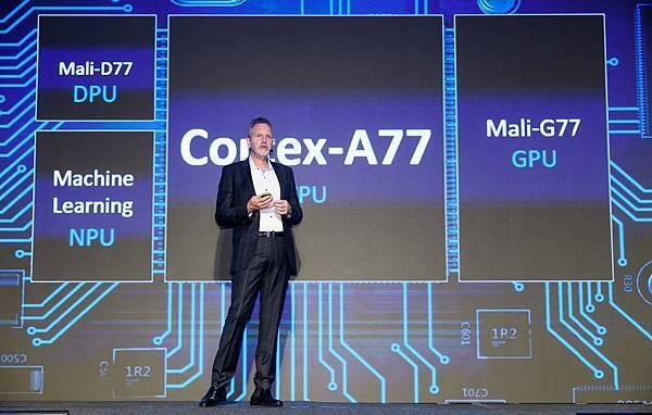 新聞照片3_ Arm IP產品事業群總裁Rene Haas _介紹全球首發的4款產品