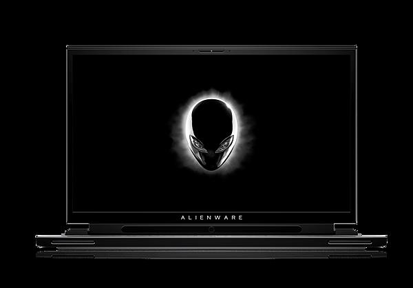 Alienware m17_open display_tobii_dark
