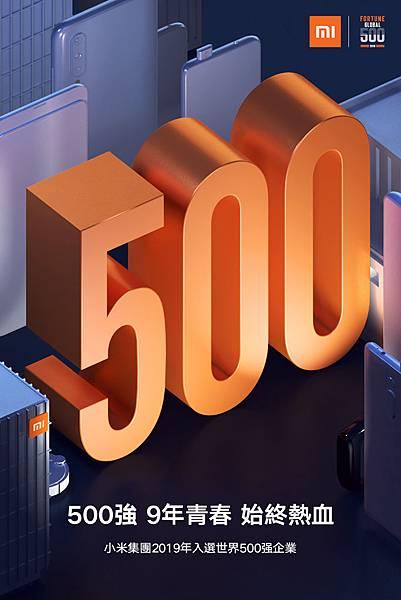 小米集團2019年首登「財富世界500強」企業