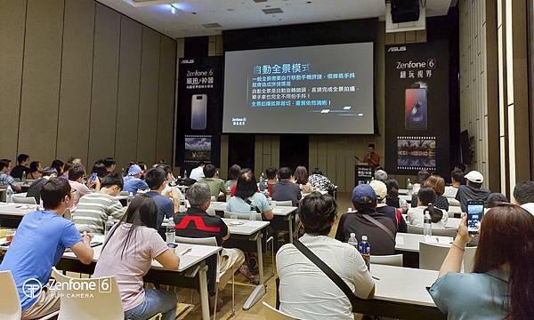 華碩首創「ZenFone 6用戶專屬學堂」,擴大至全台十個縣市舉辦,藉由專業講師親身教學,讓用戶們能更加瞭解ZenFone 6的功能應用,體驗其強大效能與翻轉鏡頭的魅力。