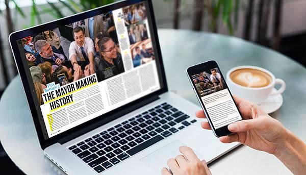 【新聞照片1】Kono電子雜誌讀者輕鬆使用電腦與手機閱讀300本以上國內外雜誌 1