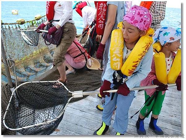 元貝行海上捕撈定置漁網1
