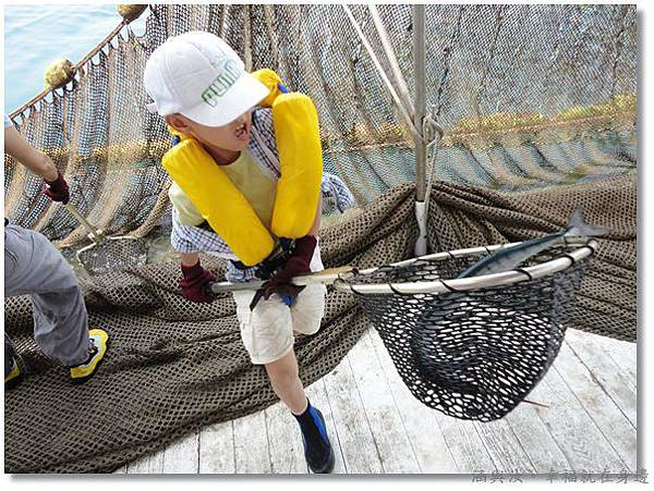 元貝行海上捕撈定置漁網2