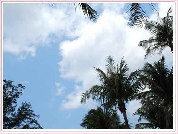 就是這個墾丁的藍天