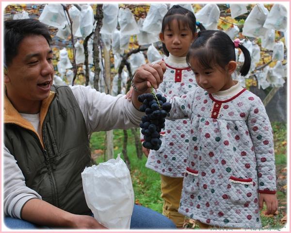 好開心喔!這是自己採的葡萄喔.jpg