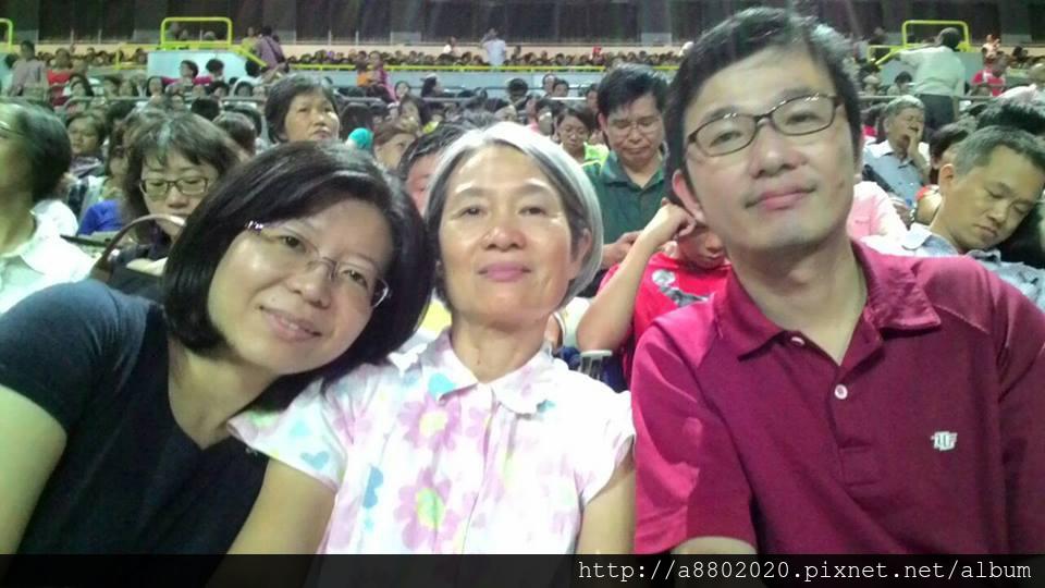 堂妹、嬸嬸、我
