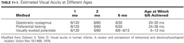 T11-01 VA in infants