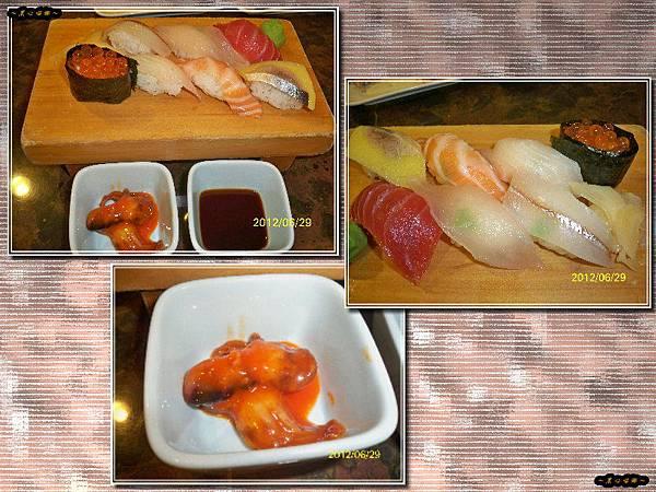 主餐-生魚片握壽司