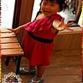 2013.03.24水玉點點日系甜美公主娃娃鞋(藍色)-01