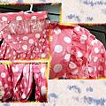 2013.04.10韓版甜美水玉點點女童雨衣時尚兒童雨衣-02