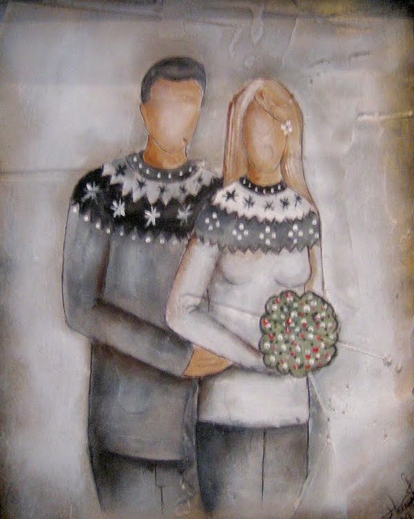 lopapeysa couple