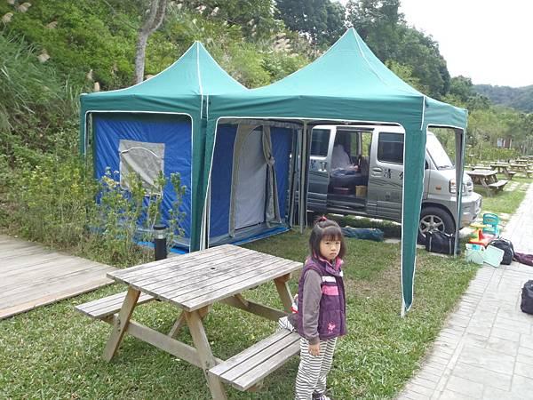 超方便的帳篷和客廳帳.