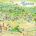 三義旅行地圖