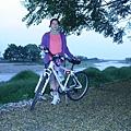 安農溪右岸自行車道秋景