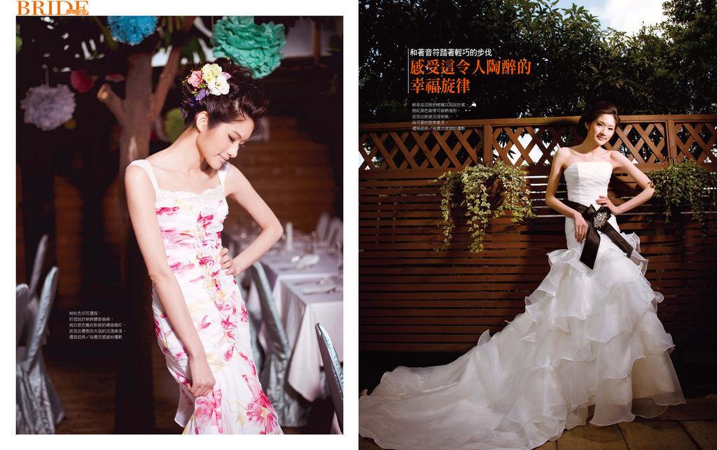 視覺流感婚紗 自助婚紗 婚紗攝影 台北婚紗攝影工作室 中和 板橋 sjlg-wedding 風格婚紗 1 薇薇新娘雜誌 2014 春季號