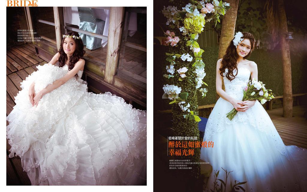 視覺流感婚紗 自助婚紗 婚紗攝影 台北婚紗攝影工作室 中和 板橋 sjlg-wedding 風格婚紗 3 薇薇新娘雜誌 2014 春季號