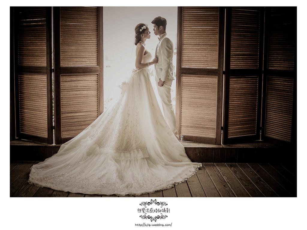 視覺流感婚紗 自助婚紗 婚紗攝影 台北婚紗攝影工作室 中和 板橋 永和 出租禮服 sjlg-wedding 風格婚紗 淡水莊園 2