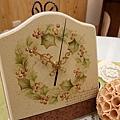 彩繪輕小品-桌上時鐘