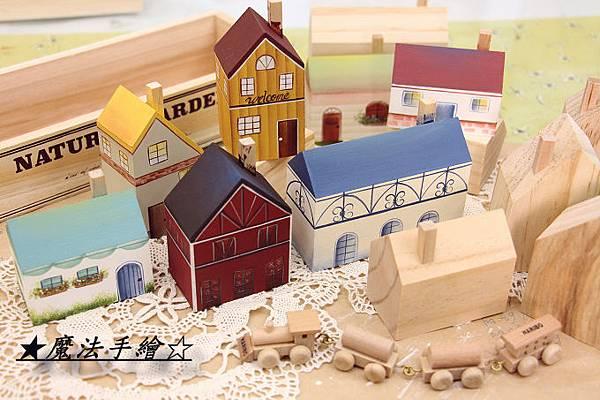 鄉村雜貨風-彩繪小屋